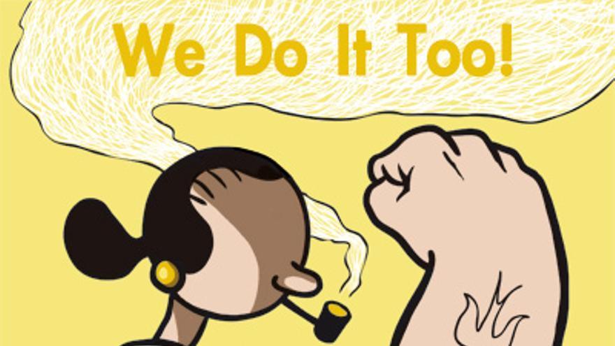 We Do It Too, del Collectif des créatrices de bande dessinée contre le sexisme