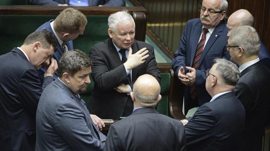 Kaczynski: Polonia es el único país que es capaz de hacer frente a Alemania