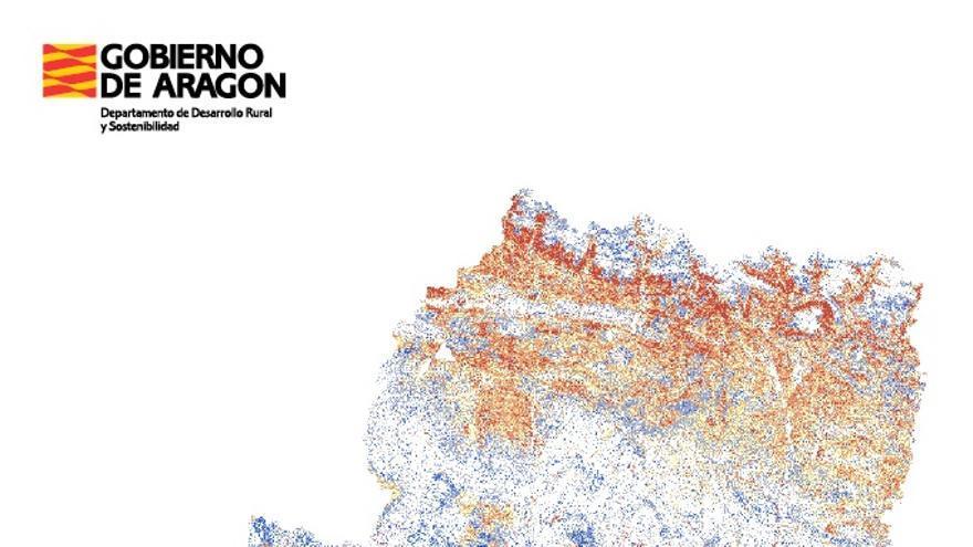 La desertización y el abandono del campo hacen de Aragón un páramo ante el cambio climático