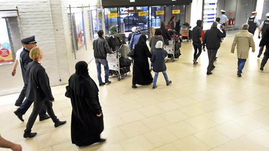 Alemania registró en lo que va de año la llegada de 200.000 refugiados