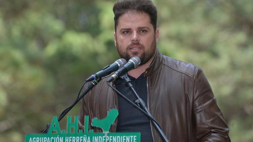 Daniel Morales, candidato de AHI al Senado