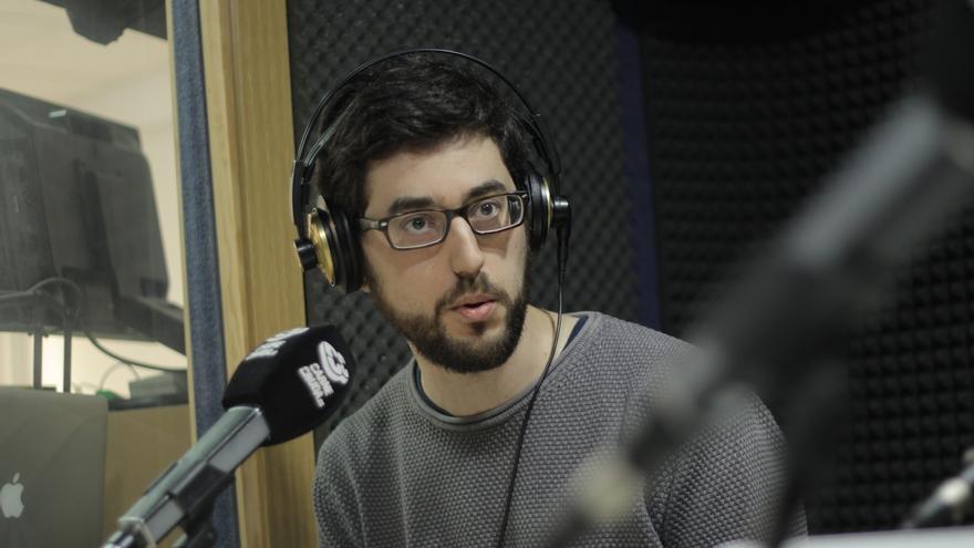 Sergio Pérez Acebrón, doctor en bioquímica en Carne Cruda