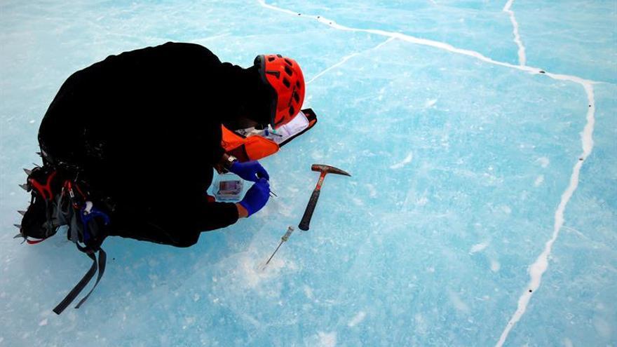 El hielo antártico, muy sensible al cambio climático, influye mucho en clima
