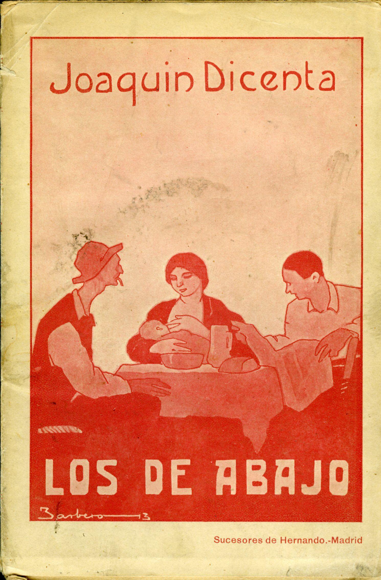 Obra de Dicenta | https://javierbarreiro.wordpress.com/category/bohemia-espanola/