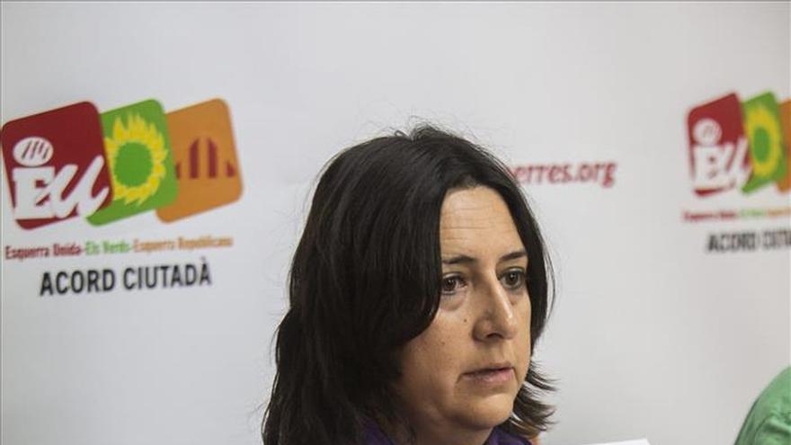 La diputada de EU cuya denuncia dio origen el caso Imelsa pide personarse