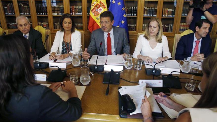 """Catalá dice que la testifical de Rajoy es ejemplo de """"normalidad democrática"""""""