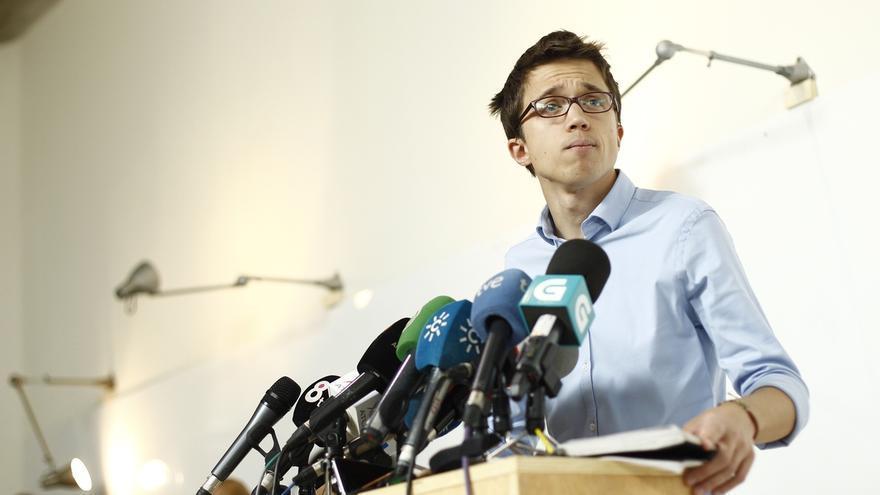"""Errejón dice que la UMA sólo le reprocha un """"error administrativo"""" y que """"no hay ningún problema"""" con su investigación"""