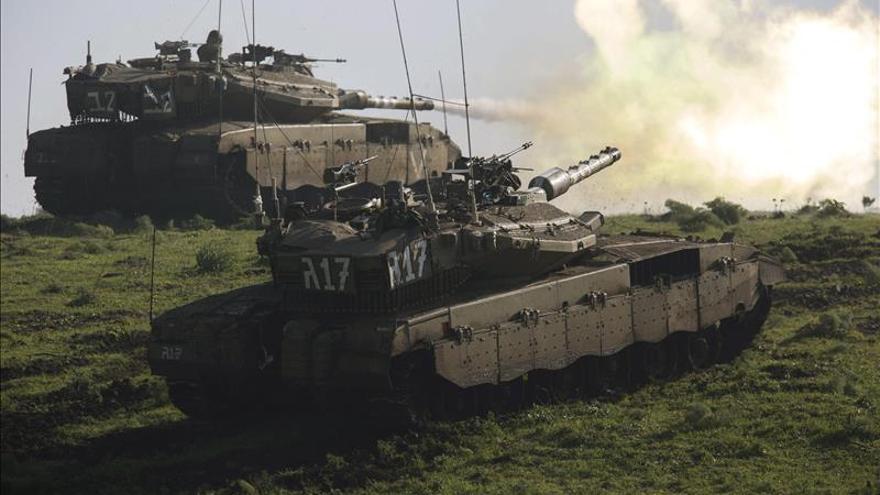 Israel lanza varios cohetes contra zonas del sur del Líbano