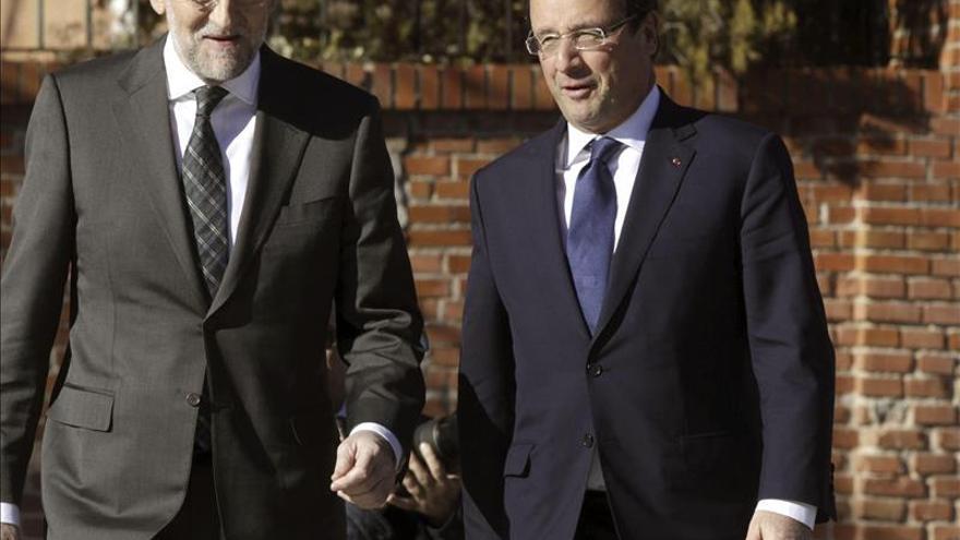 Rajoy y Hollande fijarán un plan de interconexiones que buscará financiación de la UE