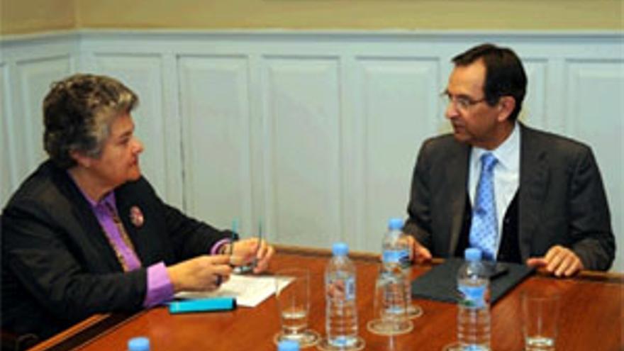 María Pilar Vera y Antonio Castro. (ACFI PRESS)