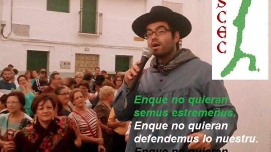 """""""Enque no quieran palramus estremeñu"""", unos versos reivindicativos en Estremeñu / OSCEC"""