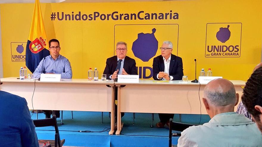 Presentación del congreso de Unidos por Gran Canaria
