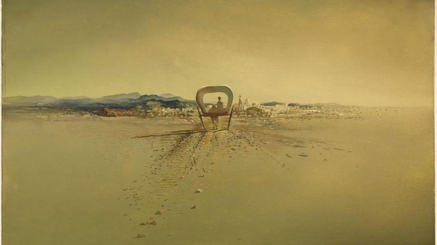 La Fundación Dalí adquiere un óleo sobre caoba del pintor ampurdanés, de 1933