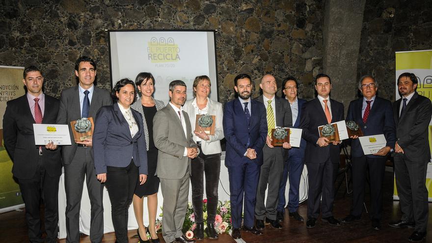 Entrega de los premios 'El Puerto Recicla'