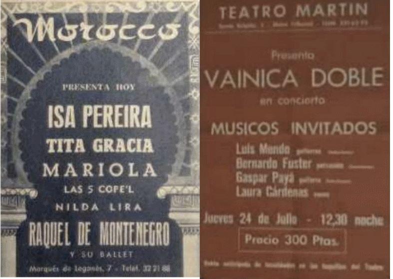 Imágenes del trabajo sobre el dúo de Julio Pollino Tamayo