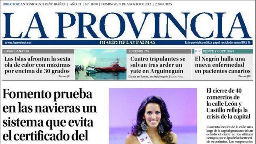 De las portadas del día (19/08/2012) #4
