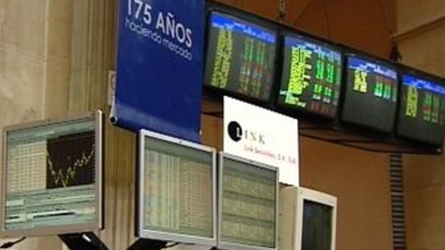 El Ibex abre con un descenso del 0,56%