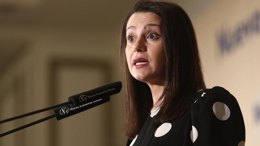 Arrimadas afea a Igea sus críticas y dice que si quiere un Ciudadanos de baronías, deberá concurrir a las primarias