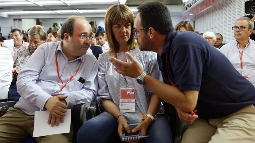 """Mendia recalca """"unanimidad"""" del no a Rajoy sin descartar otro Comité Federal"""