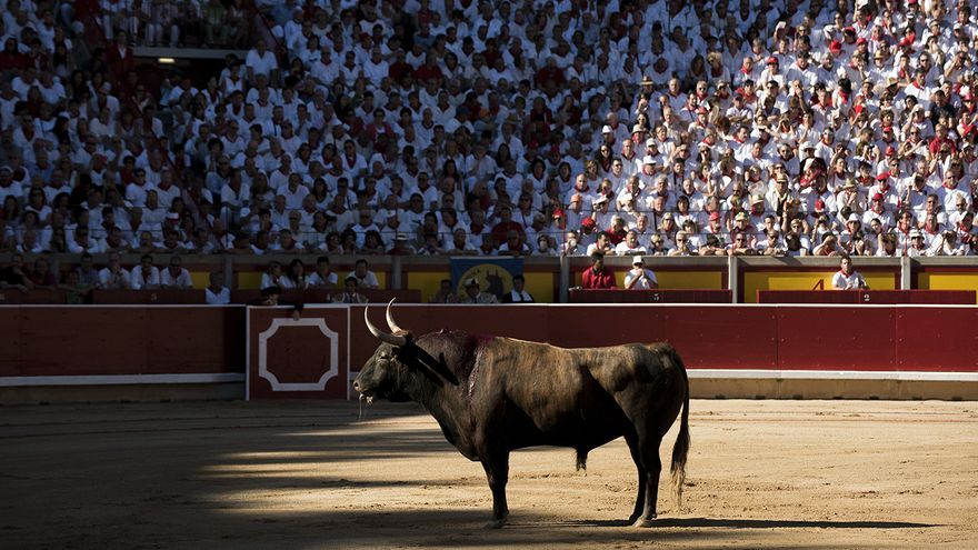 Plaza de toros de Pamplona 1. Sanfermines. Foto: Tras los Muros