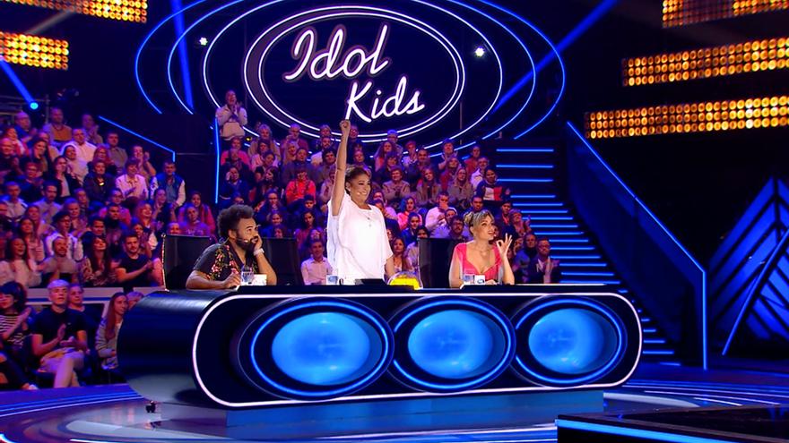 Isabel Pantoja, Carlos Jean y Edurne en 'Idol Kids'