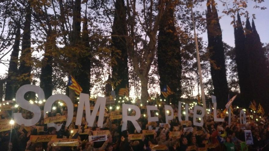 """Sànchez (ANC) pide desde la cárcel """"unidad"""" y Cuixart (Òmnium) agradece los apoyos"""