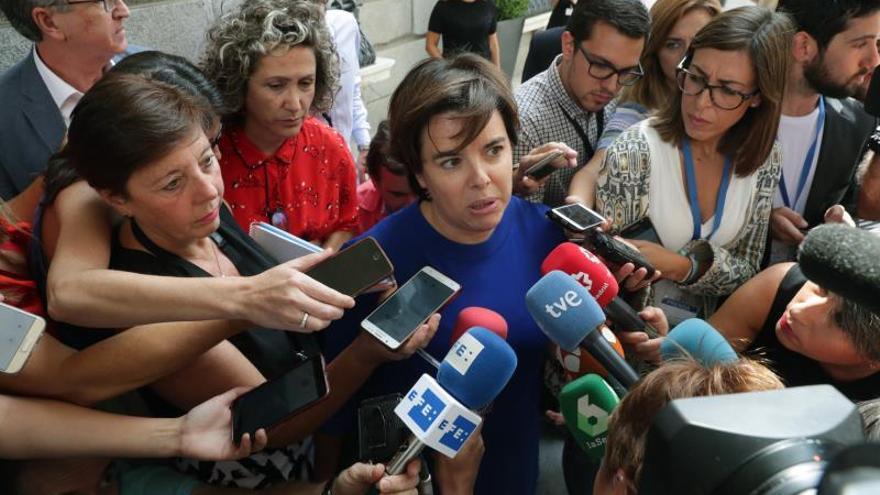 """Santamaría quiere una conversación """"tranquila"""" con Casado para decidir su futuro"""