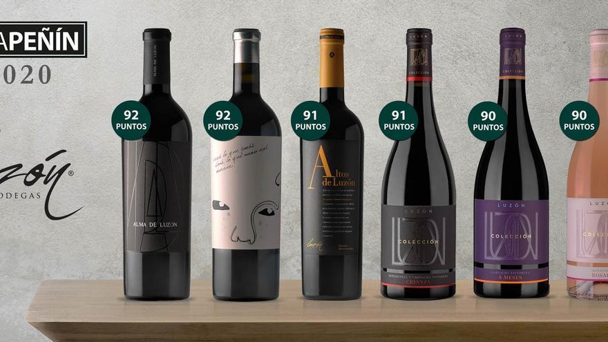 Los vinos de Bodegas Luzón de la guía Peñín