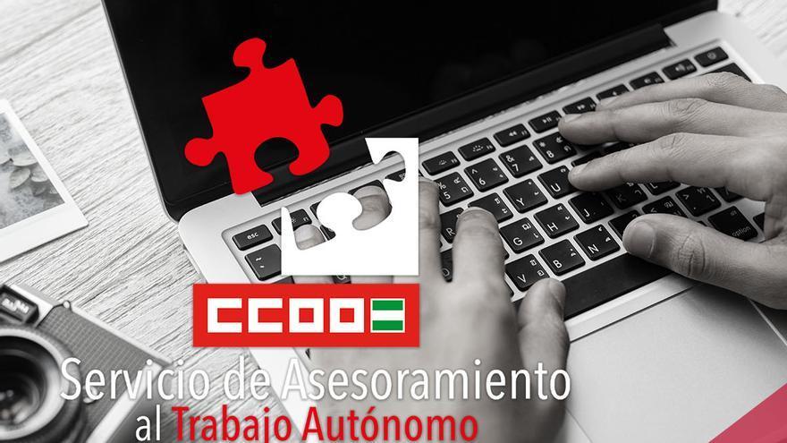 Servicio de asesoramiento de CCOO Andalucía a los autónomos