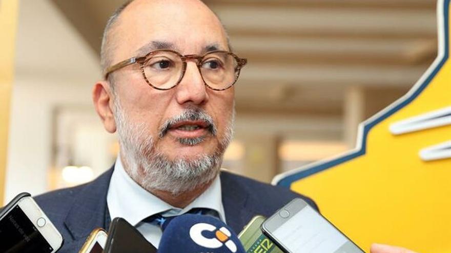 Enrique Moreno, presidente del CB Gran Canaria.