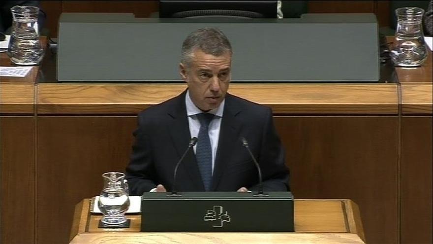 """Urkullu reivindica el acuerdo presupuestario con PSE como factor de """"estabilidad"""" en Euskadi"""