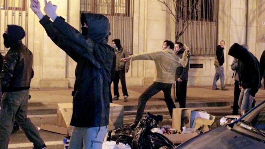 En libertad los cuatro detenidos en Zaragoza en otra protesta por Gamonal