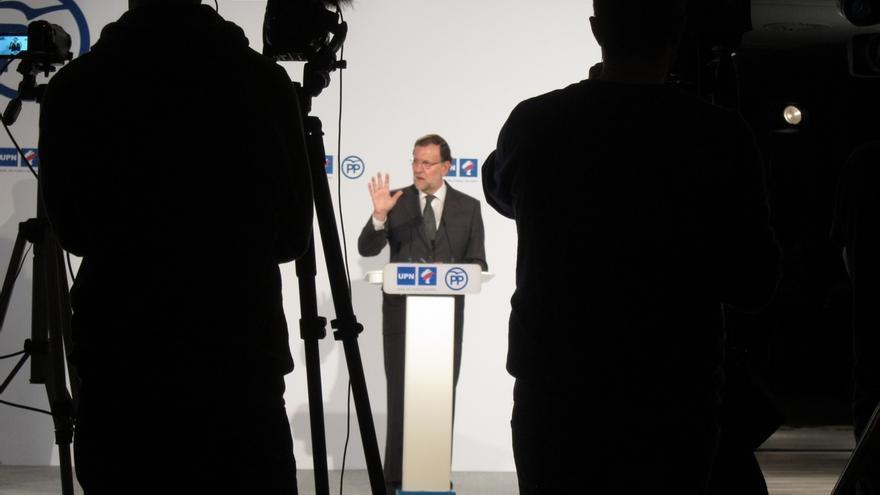 Rajoy dice que la recaudación por IVA sube más del 10% anual y la del IRPF crece por encima del 4%