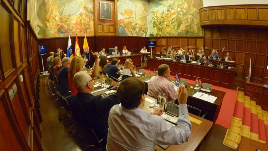 Pleno del Cabildo de Gran Canaria