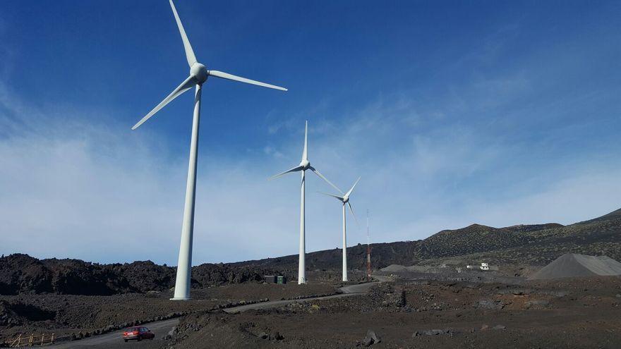 Los dos parques eólicos de Endesa en La Palma generaron energía para abastecer a 4.000 hogares en el primer semestre de 2020