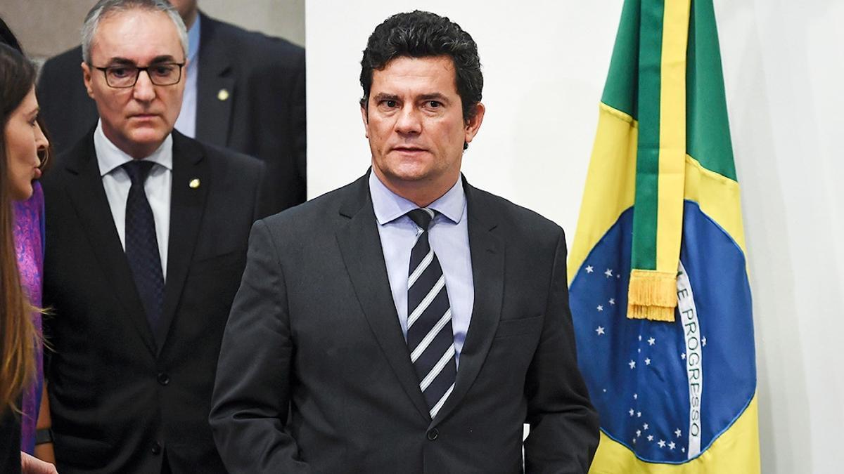El exjuez y exministro bolsonarista Sérgio Moro