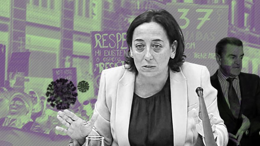 La jueza Carmen Rodríguez-Medel, instructora de los casos Máster y 8M.