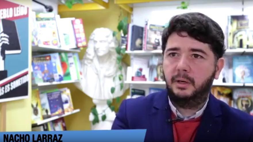 Nacho Larraz, president del Gremi de Llibrers de València