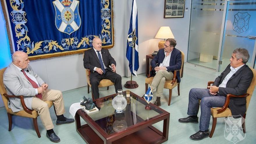La APT suscribirá un convenio de colaboración con la Fundación Canaria Club Deportivo Tenerife