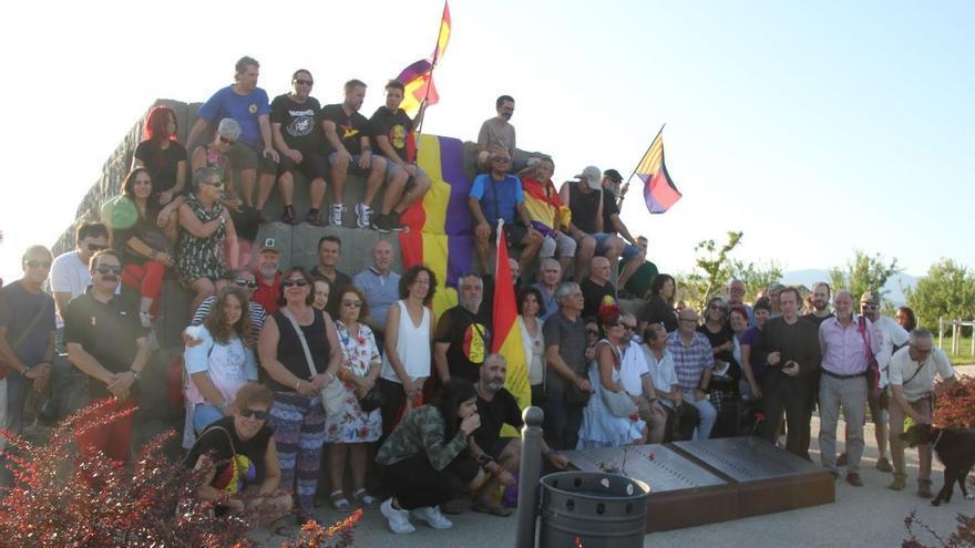 El pasado viernes 23 de agosto se homenajeó a las víctimas del franquismo en Huesca