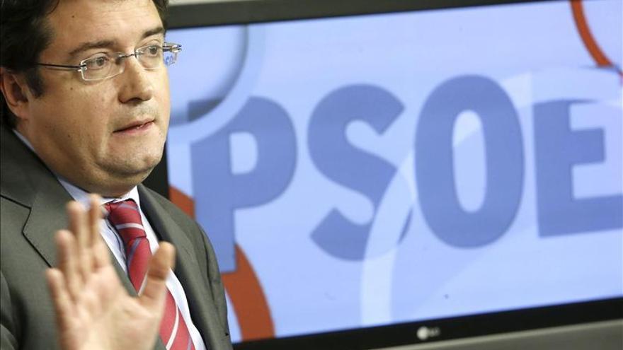 """El PSOE critica al PP por """"tomar el pelo"""" a los españoles con el caso Bárcenas"""