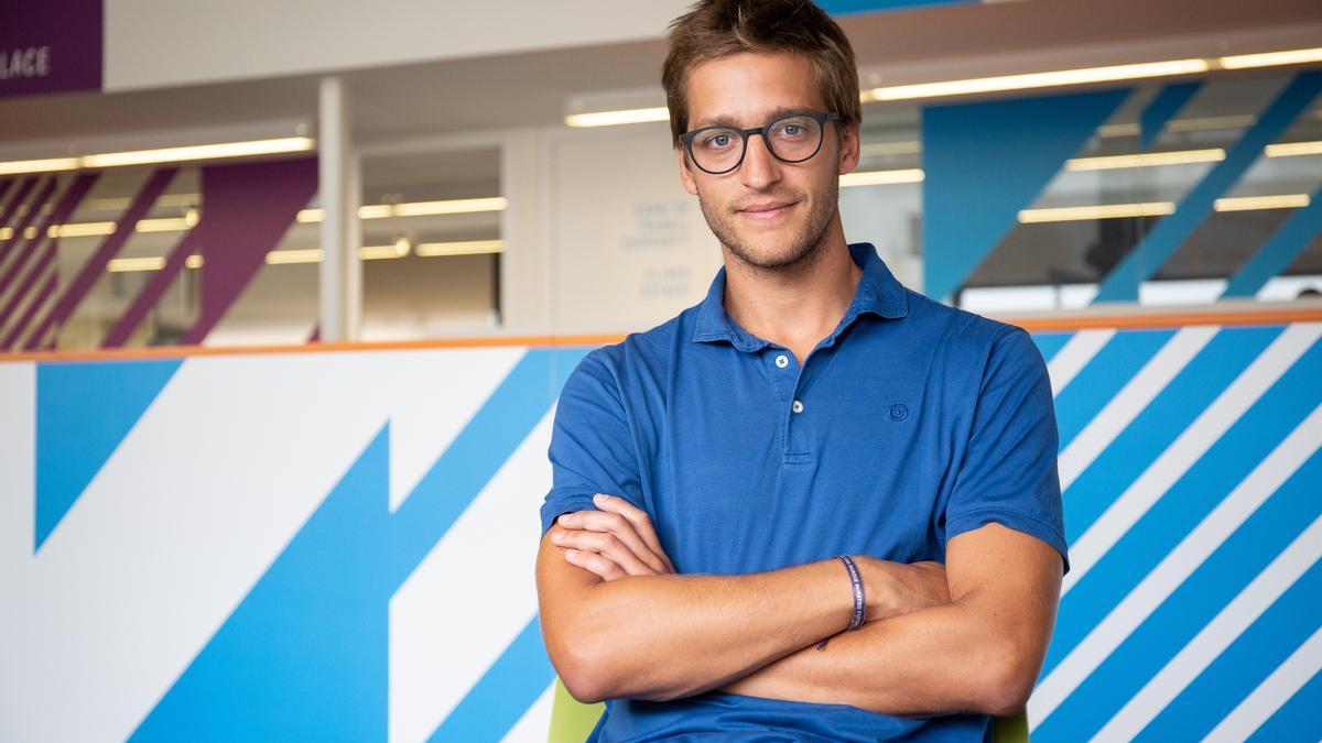 Oscar Pierre, fundador y CEO de Glovo.