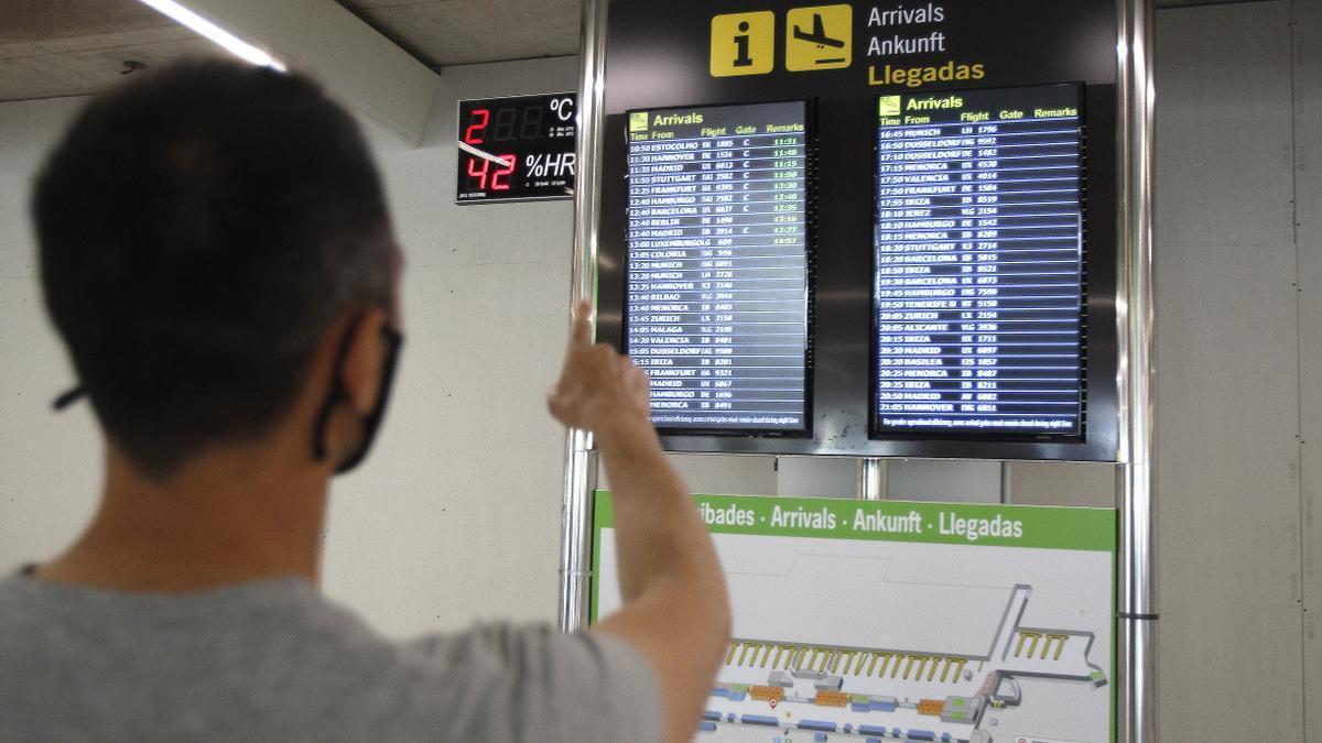 El Certificado Covid Digital creará más agilidad en los trámites del aeropuerto.