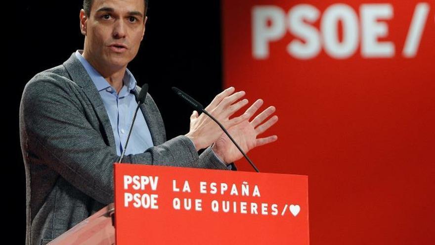 Sánchez promete eliminar el déficit de la Seguridad Social en cinco años