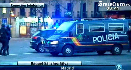 Raquel Sánchez Silva, testigo del ataque a la sede del PP, lo narra