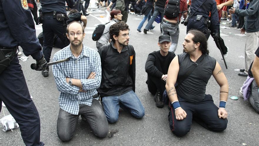 El Gobierno ha impuesto casi 2.000 sanciones por manifestaciones con la legislación previa a la 'ley mordaza'