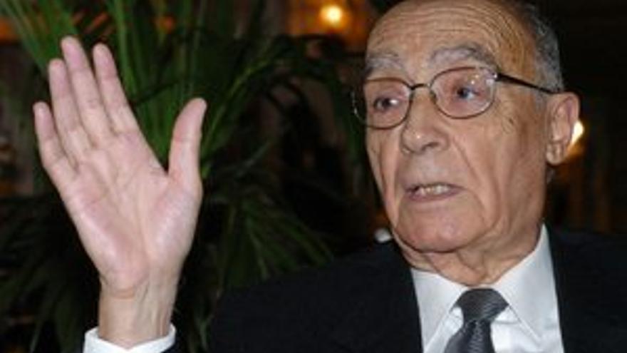 José Saramago. (EUROPA PRESS)