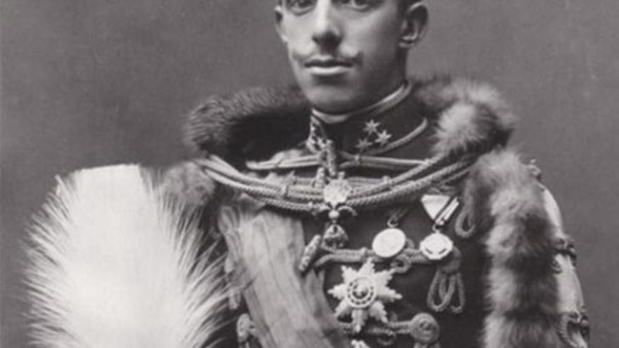 Retrato del monarca español Alfonso XIII. (Wikipedia)