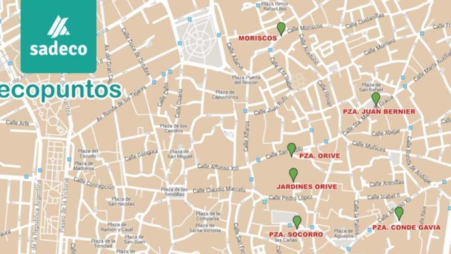 Ecopuntos de Córdoba