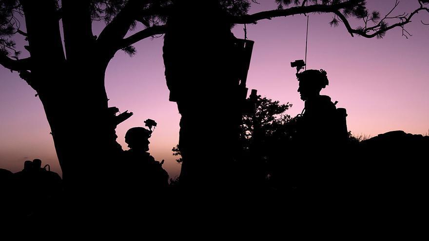 Dos soldados norteamericanos en la provincia afgana de Paktika en 2009.